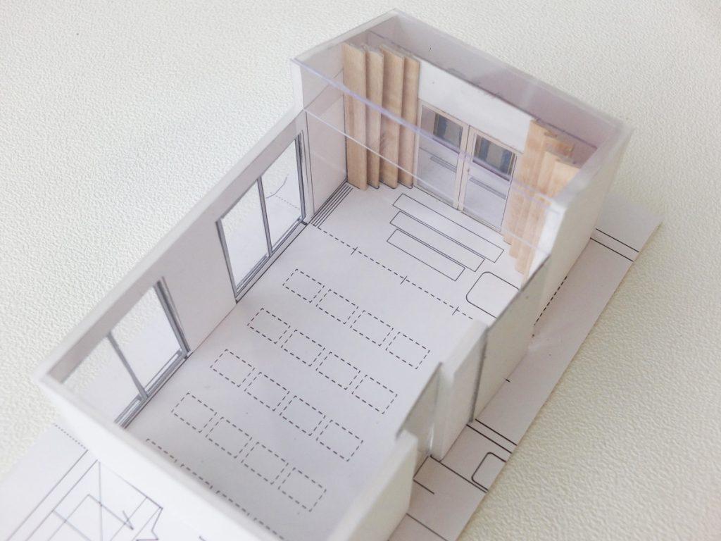 杉並の家 模型